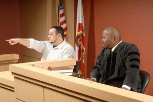 Eye witness at trial