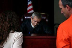 Defendant in Court
