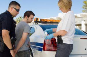 young man drug arrest